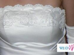 Przepiękan suknia ślubna właśnie dla Ciebie