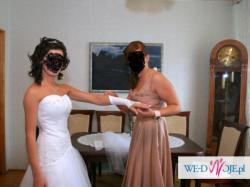Przepiękna biała suknia rozm 34-36. gorąco POLECAM! :))