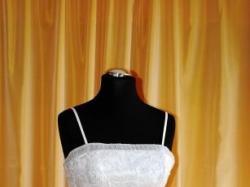 Przepiękna BIAŁA Suknia Ślubna , atrakcyjna cena
