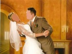 Przepiękna biała suknia ślubna dla wysokiej Pani