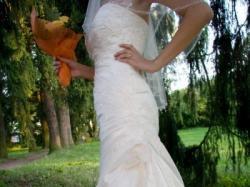 Przepiękna hiszpańska suknia ślubna MADEIRA  z kolekcji  La Sposa 2008