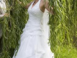 Przepiękna hiszpańska suknia ślubna z kolekcji Atelier Diagonal Model 1833