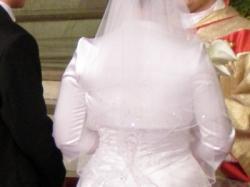 przepiekna hiszpańska suknia śluna