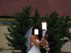 Przepiękna i elegancka  suknia ślubna Justin Alexander 8241