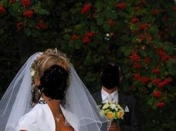 Przepiękna jednoczęściowa suknia ślubna