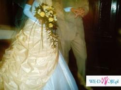 przepiekna  jedyna w swoim rodzaju suknia ślubna