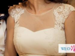 Przepiękna koronkowa suknia KIRUN - model 2015 firmy Papa Michel