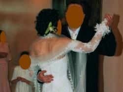 Przepiękna koronkowa suknia ślubna!