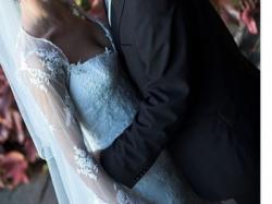 Przepiękna koronkowa suknia ślubna. Madonna Kraków