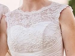 Przepiękna koronkowa suknia ślubna Sincerity+ Welon