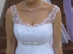 Przepiękna muślinowa sukienka WINGS