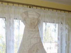 Przepiękna śnieżnobiała suknia Inez