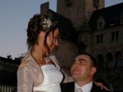 Przepiękna śnieżnobiała suknia ślubna Elizabeth Konin rozm.36-38