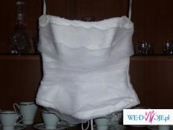 przepiekna , subtelna suknia slubna firmy biancaneve