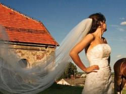 Przepiękna suknia Herms model Liporio