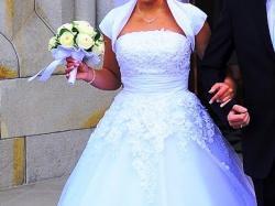 Przepiękna suknia Justin Alexander model 8483.