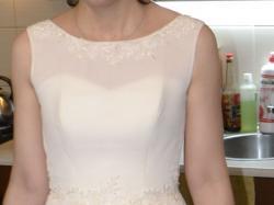 Przepiękna suknia Marietta Italia Illusion