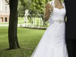Przepiękna Suknia Ślubna 34-36 Elizabeth Passion