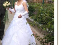 Przepiekna suknia ślubna 34/36 + gratisy