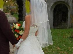 Przepiękna suknia ślubna !!