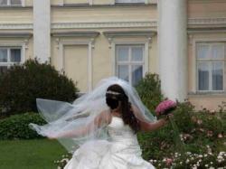 Przepiękna suknia ślubna:))))