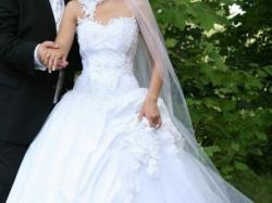 Przepiękna suknia ślubna _kolekcja Urszuli Matej
