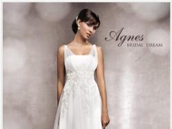 Przepiękna Suknia ślubna Agnes 11328 - N-38 rozm 34/36