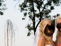 przepiękna suknia ślubna biała 36
