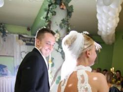 Przepiękna Suknia Ślubna cała z koronki - rybka, Rozmiar 36/38 + Gratis
