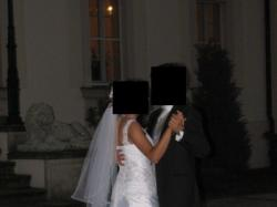 Przepiękna suknia ślubna Cardinale