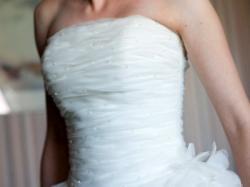 przepiękna suknia ślubna Casiopee. Tanio!
