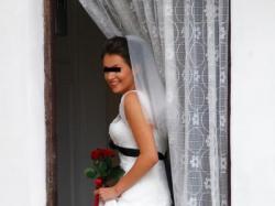 Przepiękna suknia ślubna Cymbeline Antibes