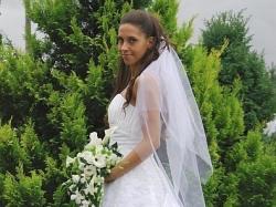 Przepiękna suknia ślubna DEMETRIOS 2008 mode l9679