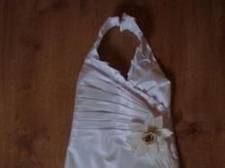 PRZEPIĘKNA suknia ślubna dla dziewczynki 4latka rozm.110