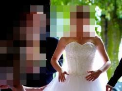 Przepiękna suknia ślubna dla Księżniczki