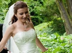 Przepiękna suknia ślubna + dodatki gratis!!!