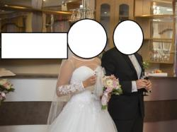 Przepiękna suknia ślubna Emmi Mariage model ADRIA kolekcja z 2015 r.!