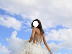 Przepiękna suknia ślubna Farage Layla w stylu hiszpańskim.