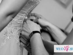 Przepiękna suknia ślubna firmy DUBER  1145