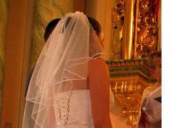 Przepiękna suknia ślubna Gala z kolekcji 2007, wszystkie dodatki gratis