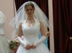 Przepiękna suknia ślubna+ gratisy