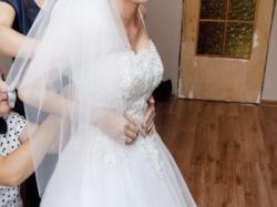 Przepiękna Suknia ślubna! GRATISY-DO NEGOCJACJI