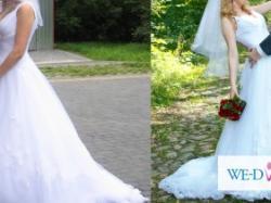 Przepiękna suknia ślubna Herm's Brunello