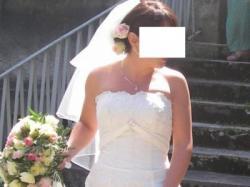 Przepiękna suknia ślubna Hermsa, model Kivor