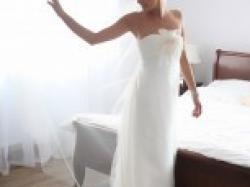 Przepiękna Suknia ślubna hiszpańskiego projektanta JESUS PEIRO model 113
