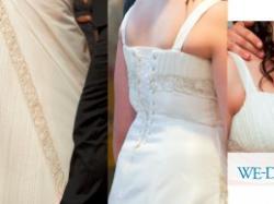 przepiękna suknia ślubna-kobieca i pełna wdzięku - jak Ty!!!