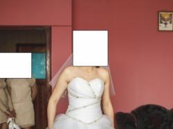 Przepiękna suknia ślubna księżniczka