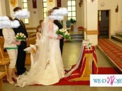 Przepiękna Suknia Ślubna La Sposa Miradir 2008