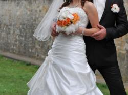 Przepiękna suknia ślubna MAGGIE SOTTERO model AMBROSIA w kolorze WHITE DIAMOND