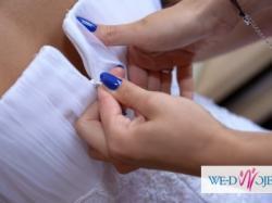 Przepiękna suknia ślubna Marietta Futuro 2014 rozmiar 36/38 Gratisy!